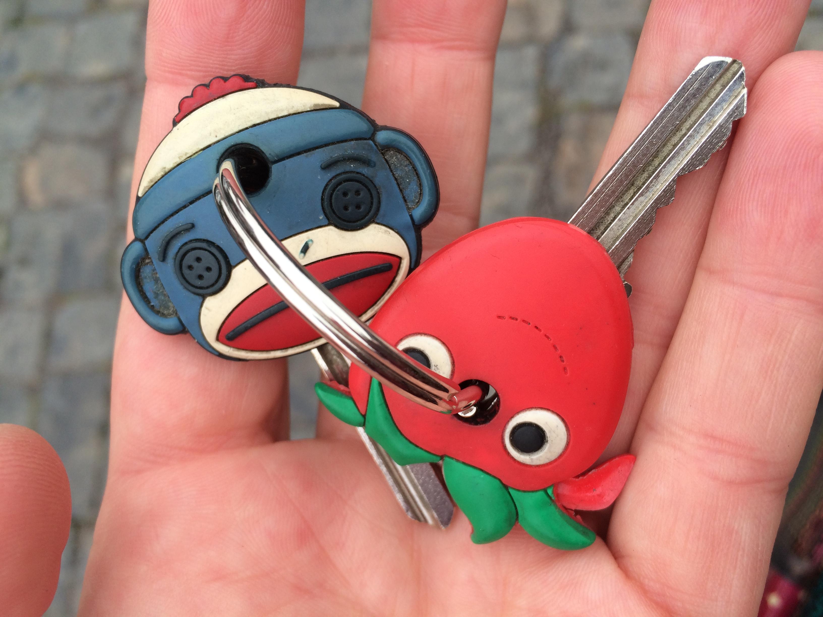 Atelierschlüssel in Hand