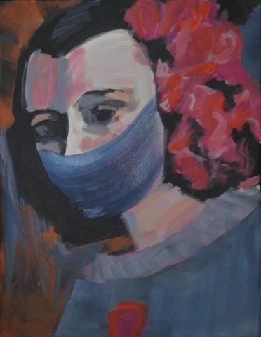 Silent Isabel | Acryl auf Leinwand |